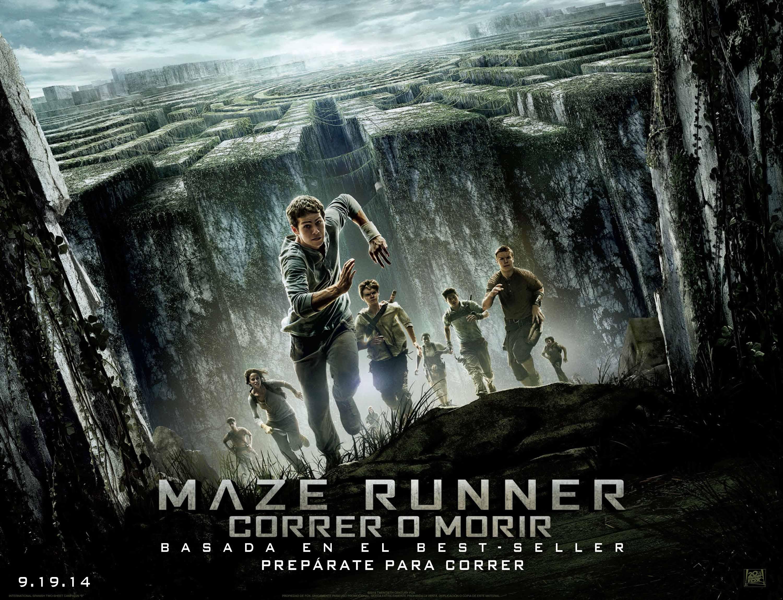 Maze runner correr o morir poster banner criticsight